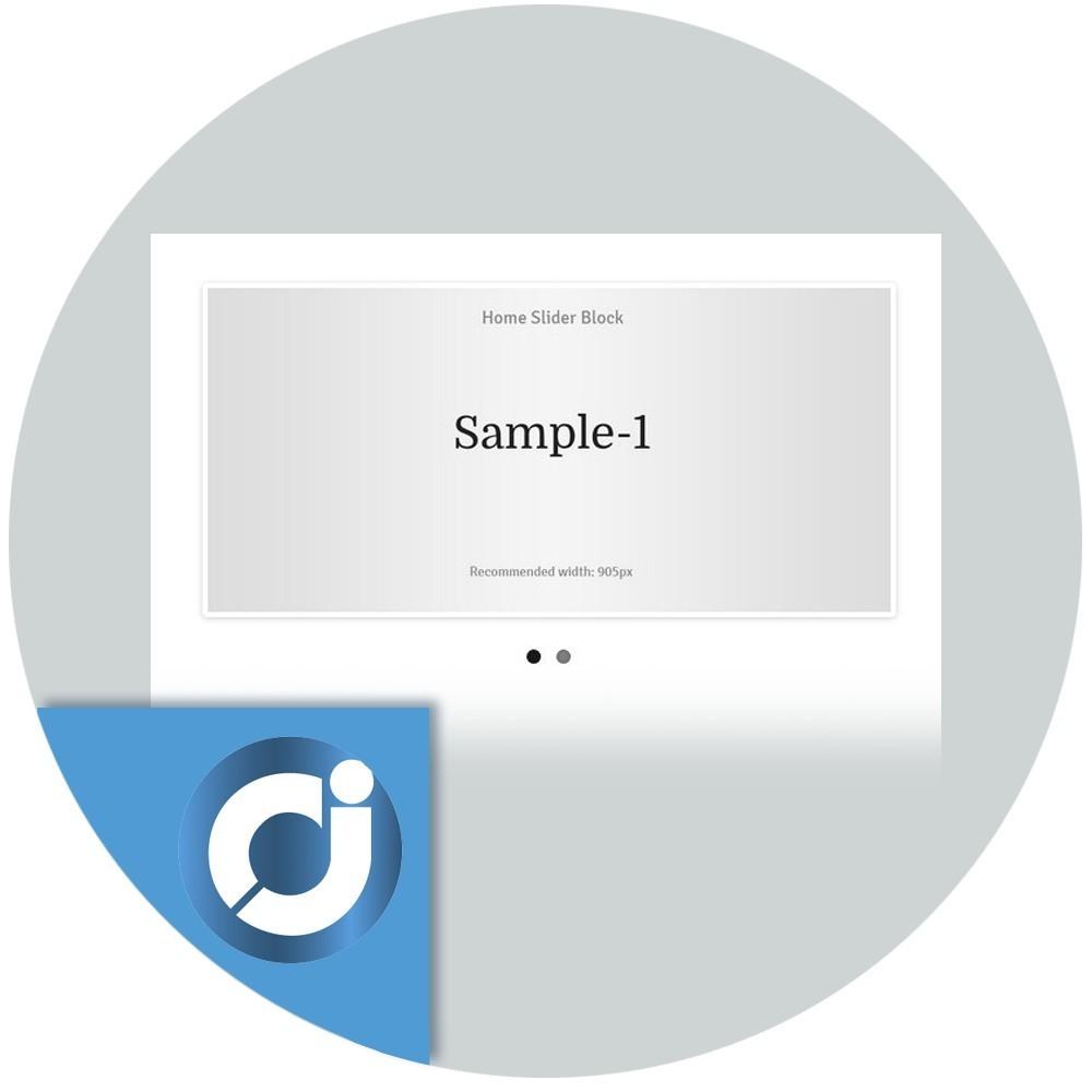 Flex Slider - Añade uncarousel de imágenes adaptable a todos los dispositivosgratis en la página principal de tu tienda.