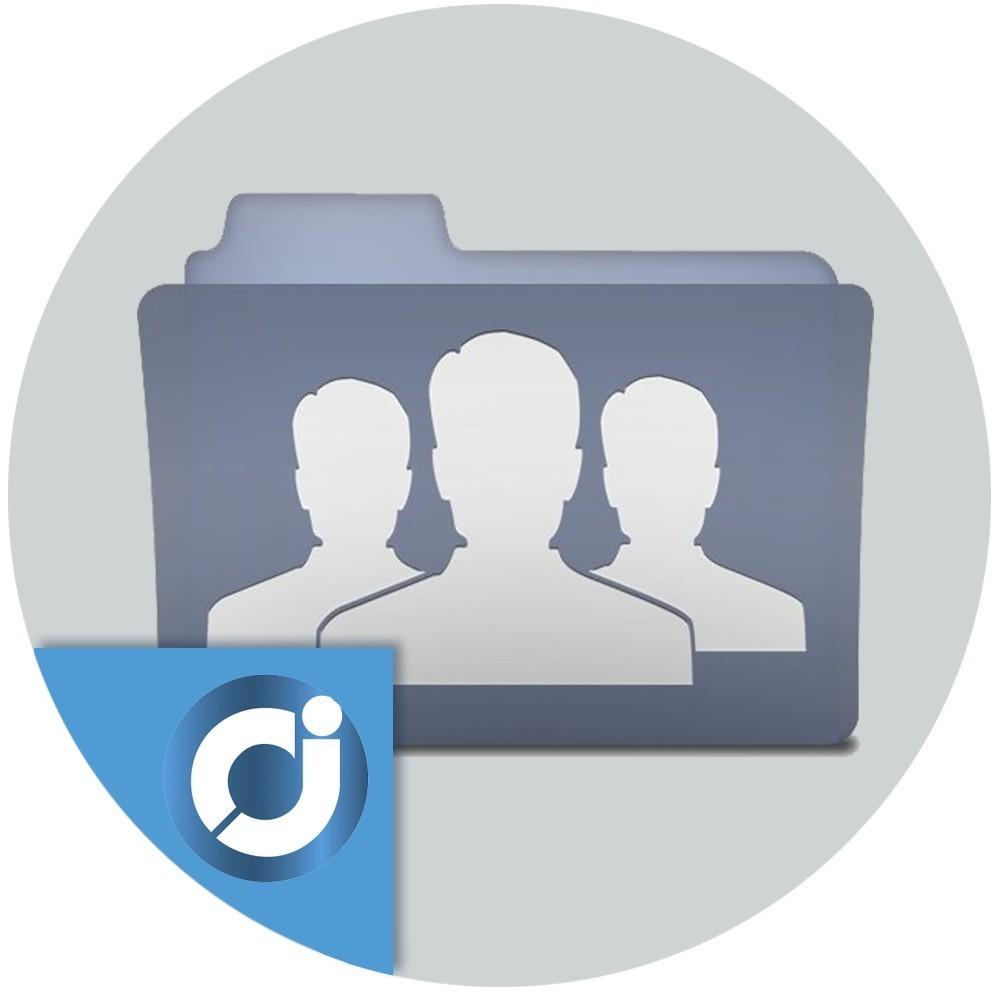 Asociación de categorías y grupo de clientes en masa - Asocia las categorías con los grupos de clientes en masa con el objetivo