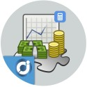 Contabe - Management tool and control of income, expenses, benefits and calculation of taxes payable quarterly for your busines
