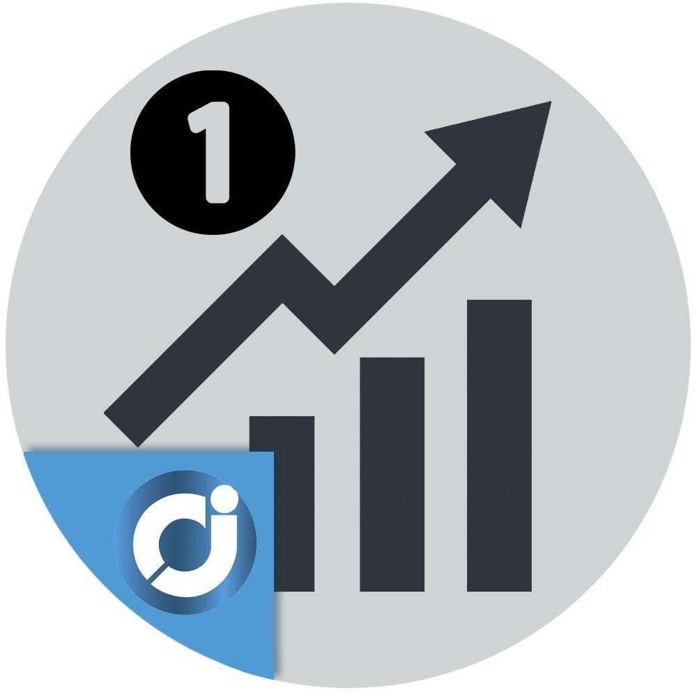 Número de ventas del producto - Muestra el número de ventas en la página del producto y en los listados de productos.