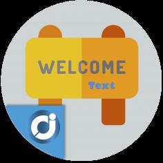 Bloque de bienvenida - Añade un bloque para dar la bienvenida a los usuarios o para destacar algún contenido que aparece en tod