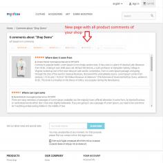 Comentarios y calificaciones del producto con foto y Google Rich Snippets - Permite al cliente enviar una calificación y coment