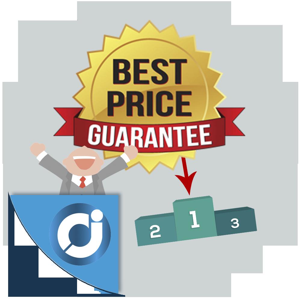 Mejor precio garantizado - Permite a los clientes informarte de los precios de la competencia desde la página del producto. Gan