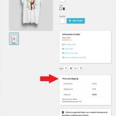JA Marketplace Otros vendedores venden este producto - Habilita en la página del producto un bloque de productos iguales o simi