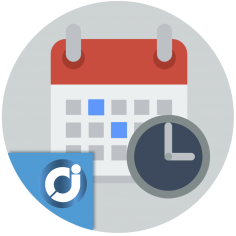 Calendario completo de eventos - Publica contenido extra en tu tienda organizado por fechas y muéstralo a tus clientes en un bo