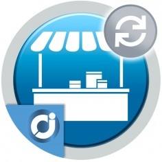 Cobra una cuota mensual, trimestral o anual a los vendedores por la utilización del mercado. Suscripción periódica para vender