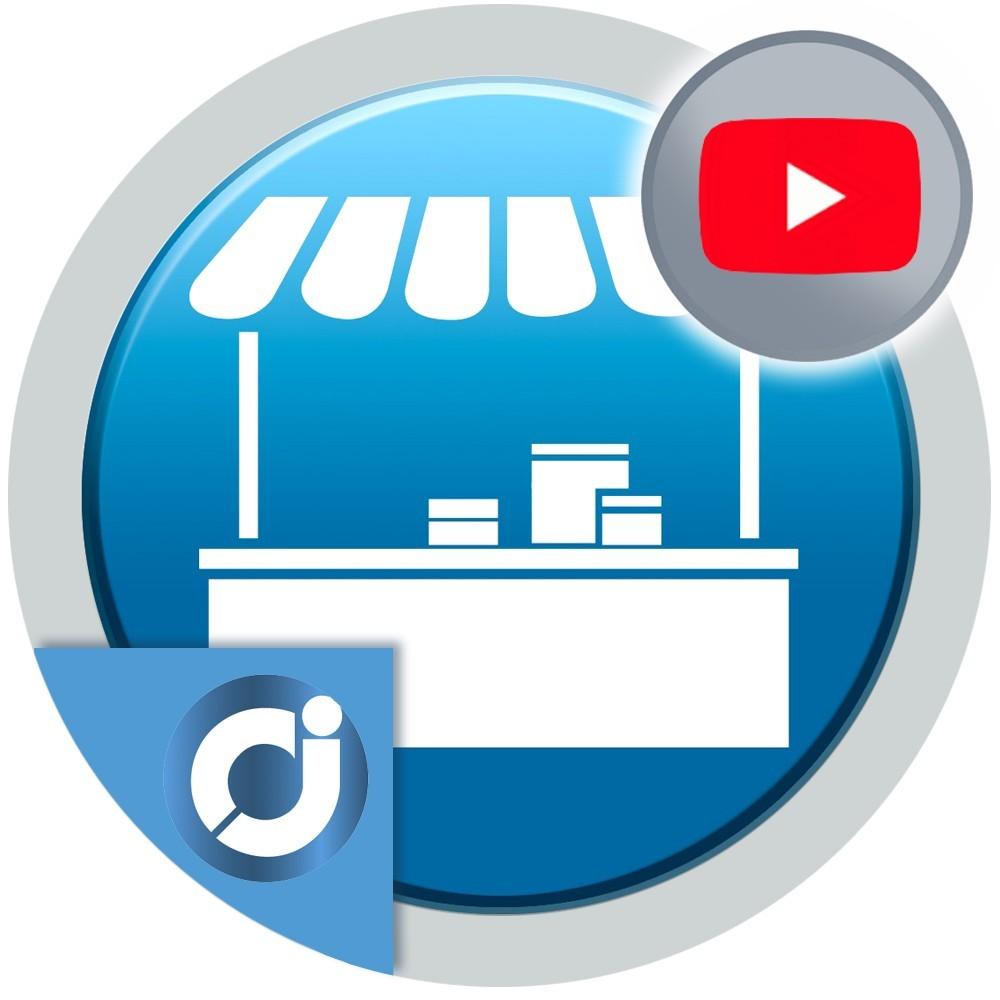 Permite a los vendedores de tu mercado agregar un vídeo en su perfil o página de su tienda usando la plataforma YouTube.