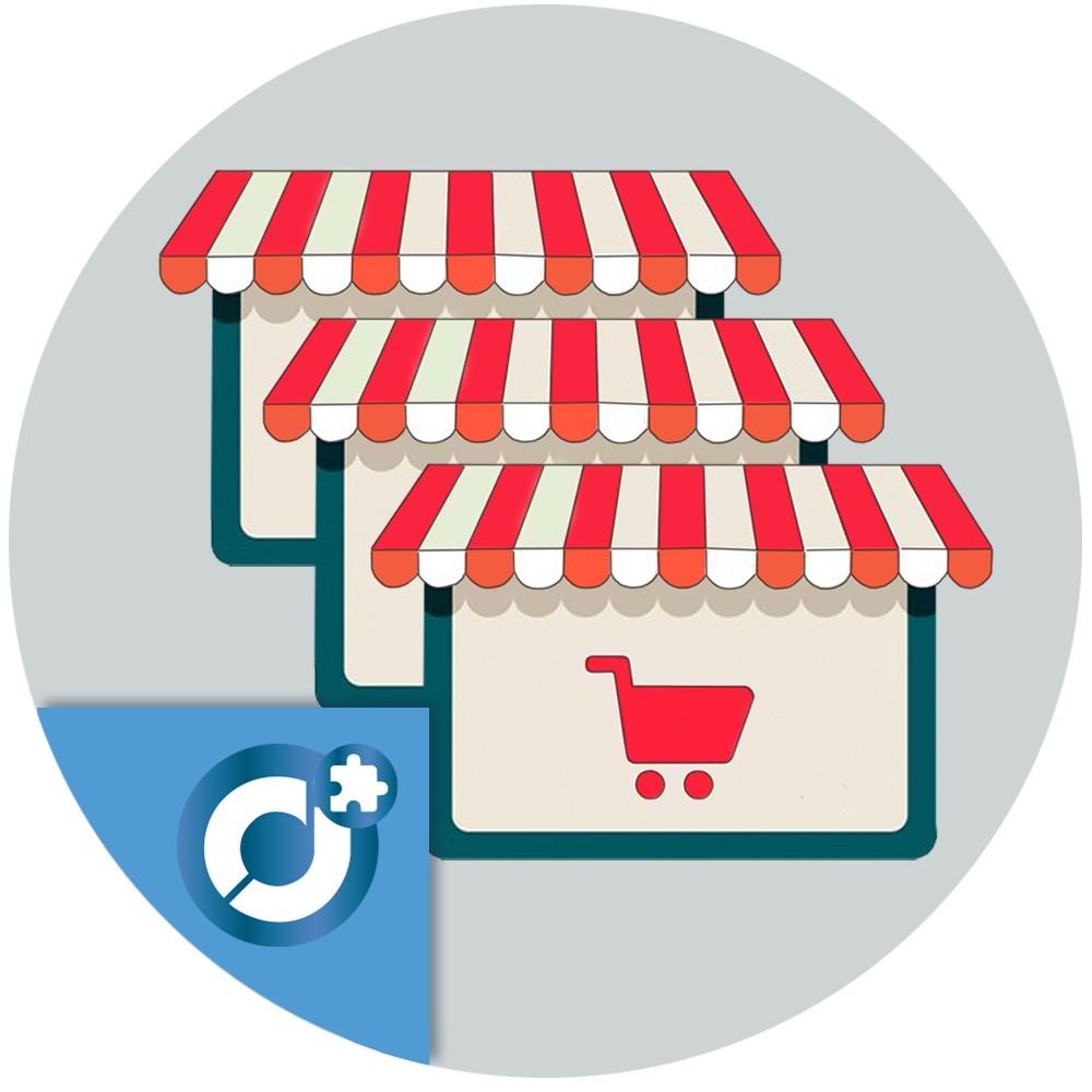 Marketplace Multitienda - Incorpora un mercado de múltiples tienda dentro detu tienda PrestaShop parapermitir a otros usuario
