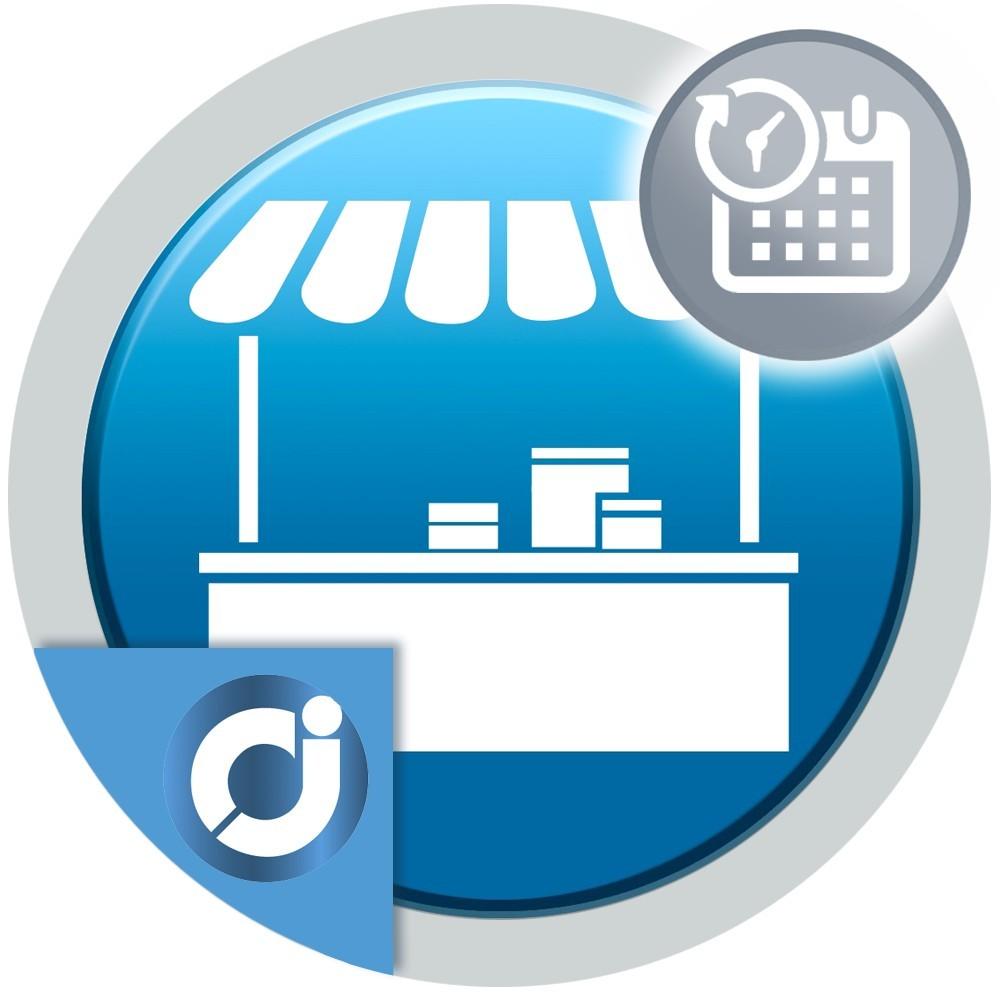JA Marketplace Reservas del vendedor - Crea y permite a los vendedores de tu mercado crear productos tipo reserva.