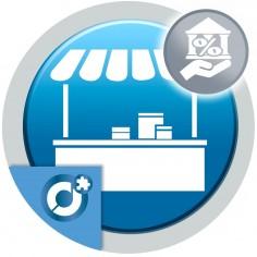 Permite al vendedor indicar su tasa impositiva al crear o editar su cuenta de vendedor.
