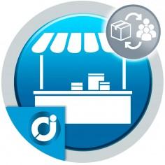 JA Marketplace Asociación de productos a vendedores en masa: Asocia productos a los vendedores de tu mercado de forma masiva.