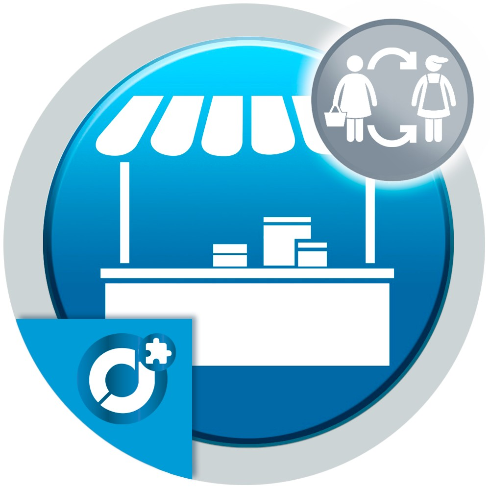 Allows the user to create their seller account automatically with the customer account data deposited in the registration form.