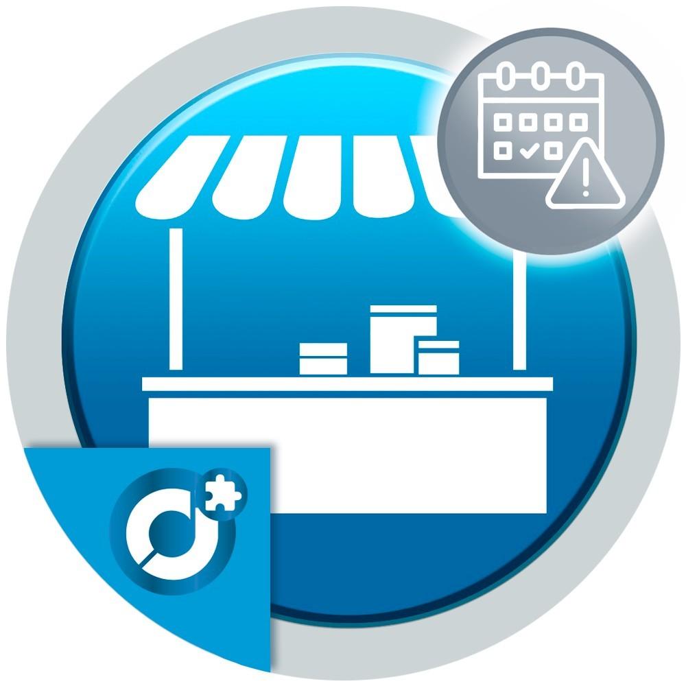Con este complemento puedes poner una fecha de caducidad a los productos del mercado.