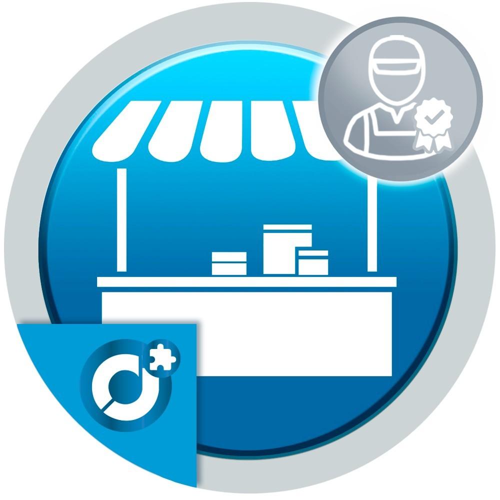 Crea sellos de calidad en el mercado y asócialos a los vendedores para destacar sus perfiles.