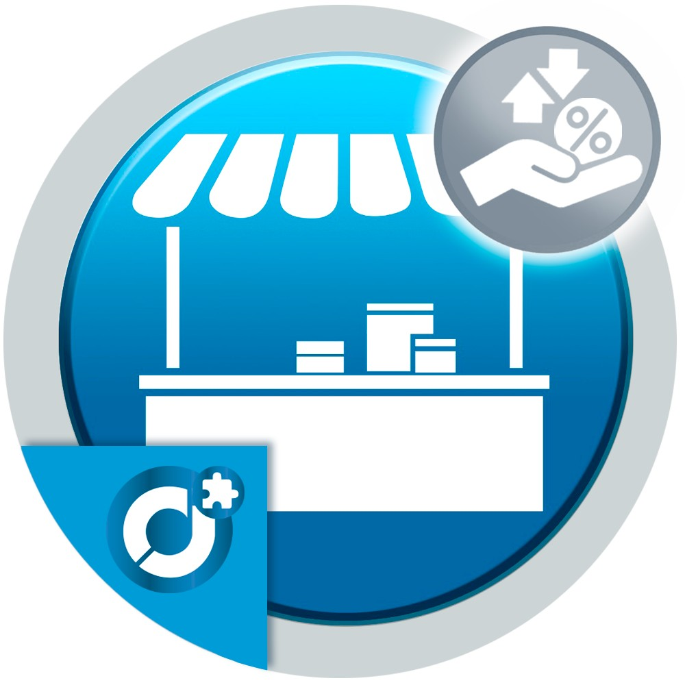 Export and import the commission percentage of the market sellers from the Backoffice of your shop.