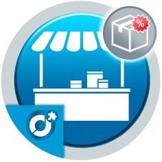 Permite a los vendedores del mercado añadir ofertas a sus productos.
