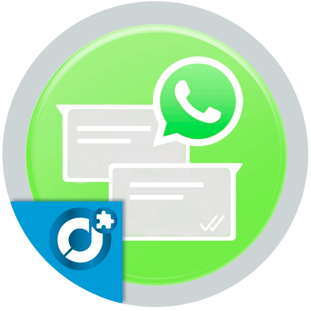 Allows your customers to communicate with you and market sellers using WhatsApp.