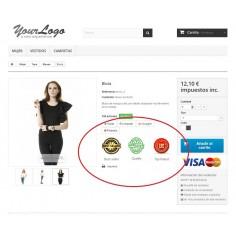 JA Marketplace Sellos de calidad para los productos de los vendedores - Crea sellos de calidaden el mercado y asócialos a los