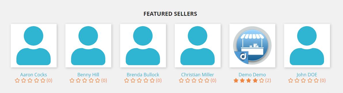 JA Marketplace featured sellers