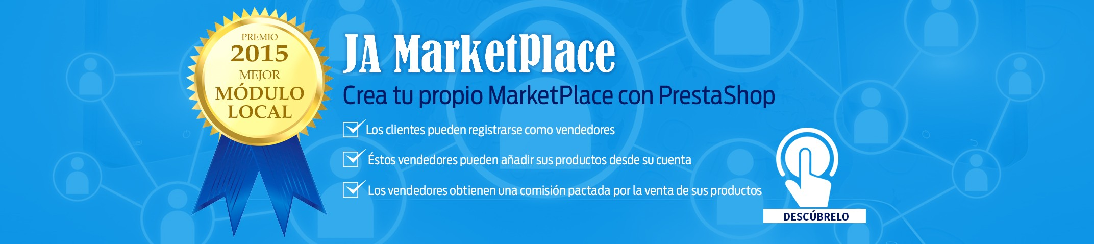JA Marketplace - Create your own marketplace with PrestaShop