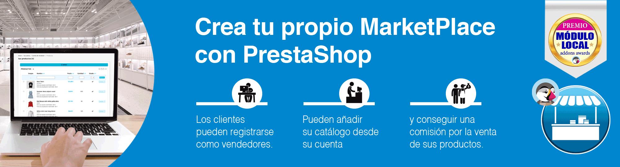JA Marketplace - Crea tu propio MarketPlace con PrestaShop