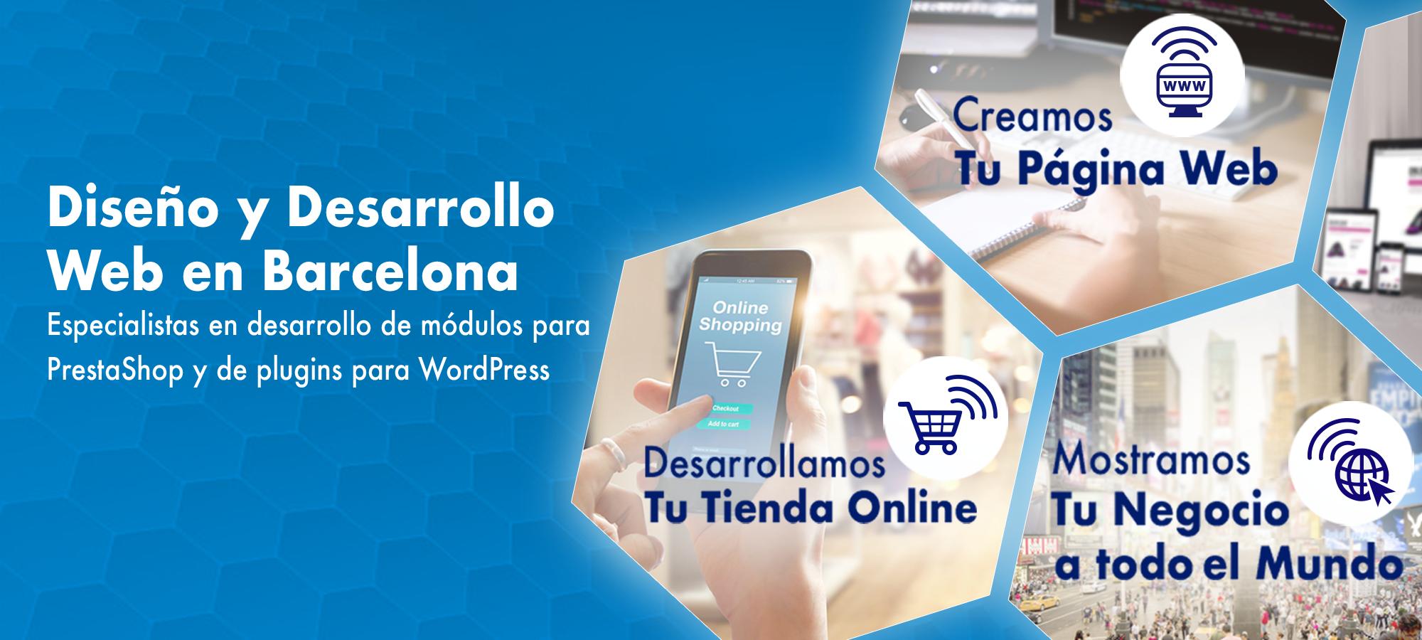 Desarrollamos tu tienda online. Creamos tu página web. Mostramos tu negocio a todo el mundo